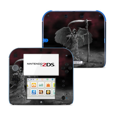 Nintendo 2DS Skin - Time is Up