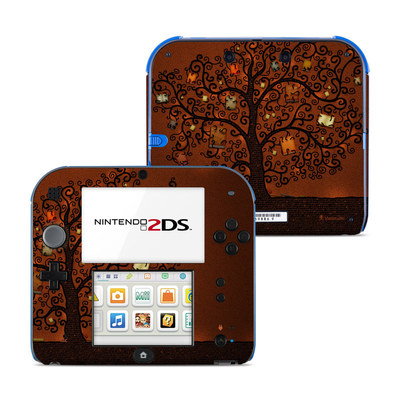 Nintendo 2DS Skin - Tree Of Books