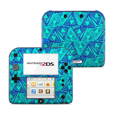 Nintendo 2DS Skin - Tribal Beat
