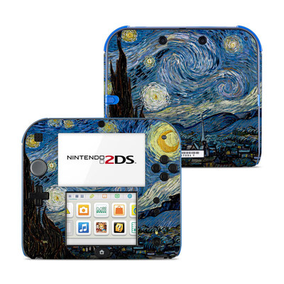 Nintendo 2DS Skin - Starry Night