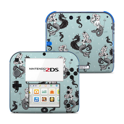 Nintendo 2DS Skin - Vintage Mermaid