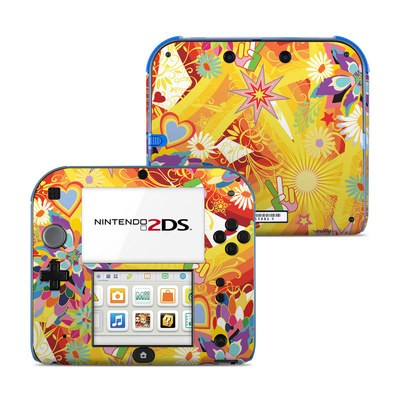 Nintendo 2DS Skin - Wall Flower