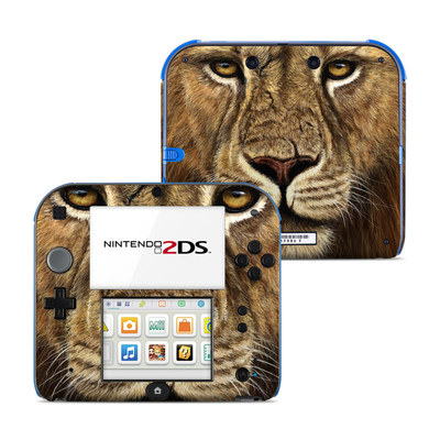 Nintendo 2DS Skin - Warrior
