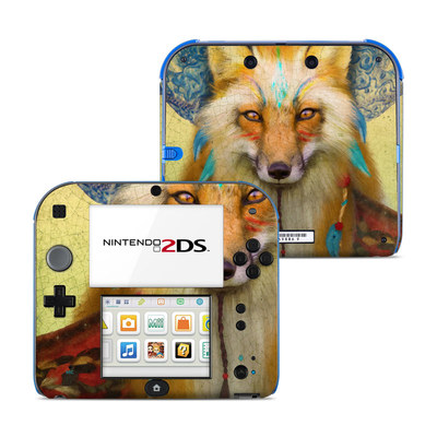 Nintendo 2DS Skin - Wise Fox
