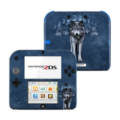 Nintendo 2DS Skin - Wolf Cycle
