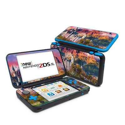 Nintendo 2DS XL Skin - Castle Majesty