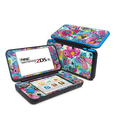 Nintendo 2DS XL Skin - Natural Garden