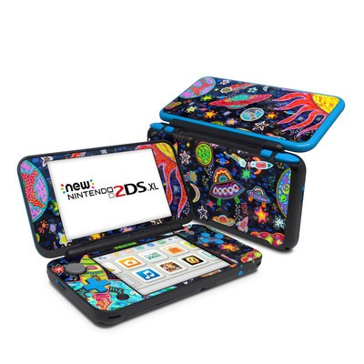 Nintendo 2DS XL Skin - Out to Space