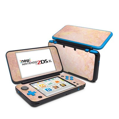 Nintendo 2DS XL Skin - Rose Gold Marble