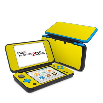 Nintendo 2DS XL Skin - Solid State Yellow