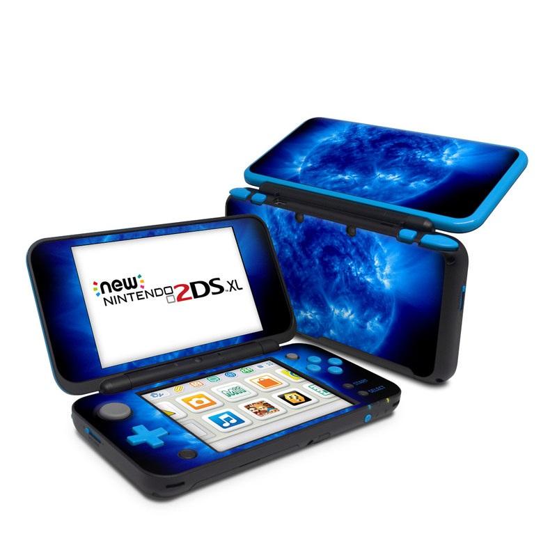 Nintendo 2ds Xl Skin Blue Giant Decalgirl