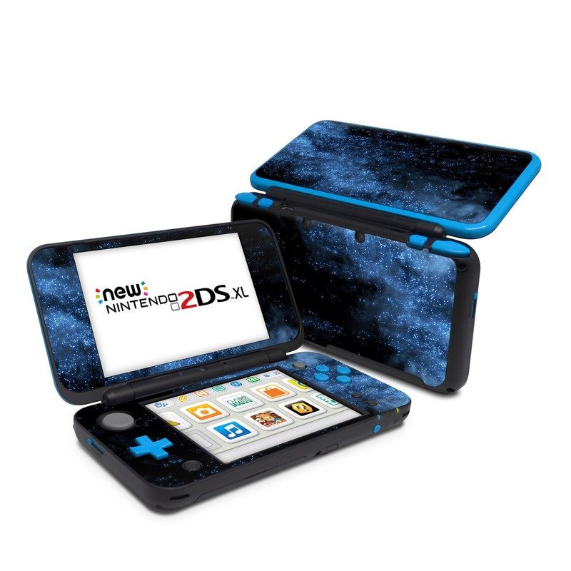 Nintendo 2ds xl skin milky way by gaming decalgirl for Housse new 2ds xl