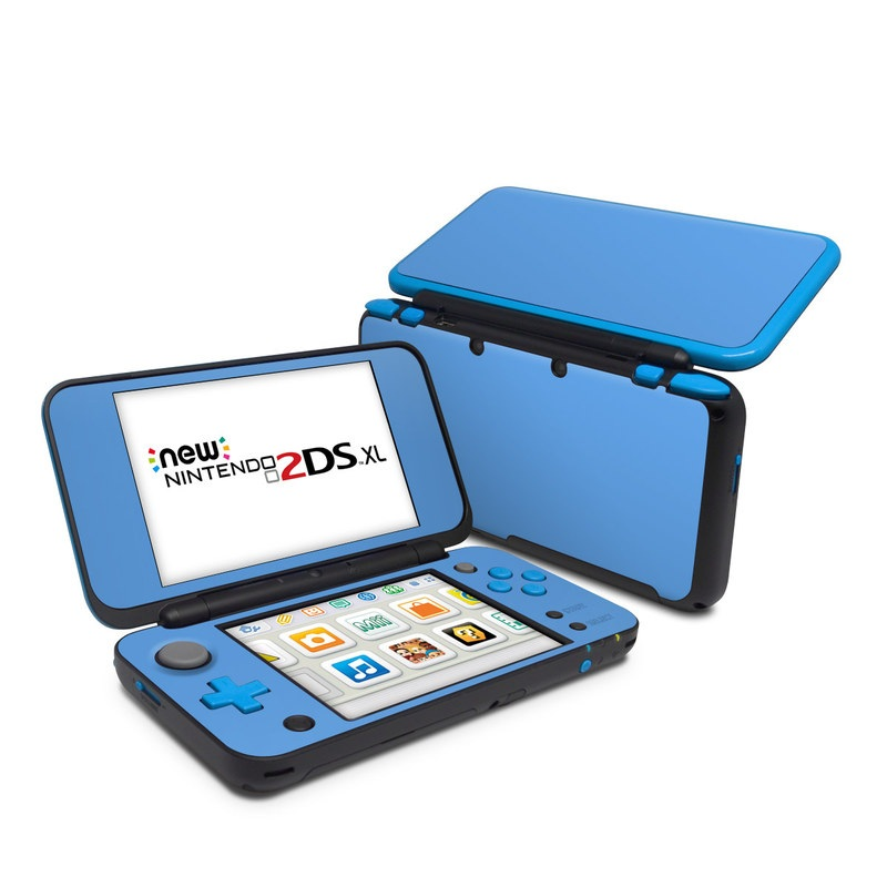 Nintendo 2ds Xl Skin Solid State Blue By Solid Colors
