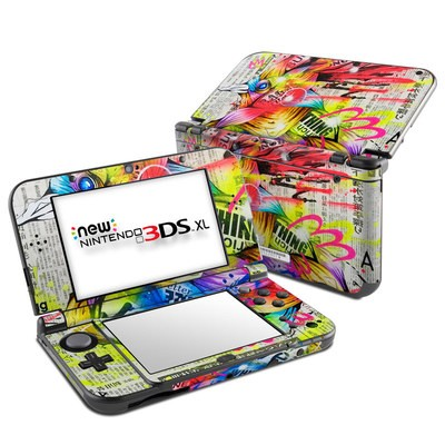 Nintendo New 3DS XL Skin - Akaitori