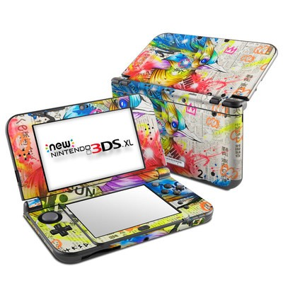 Nintendo New 3DS XL Skin - Aoitori