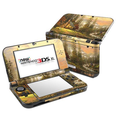 Nintendo New 3DS XL Skin - A Peaceful Retreat