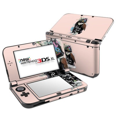 Nintendo New 3DS XL Skin - Black Magic