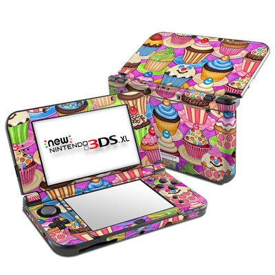 Nintendo New 3DS XL Skin - Cupcake