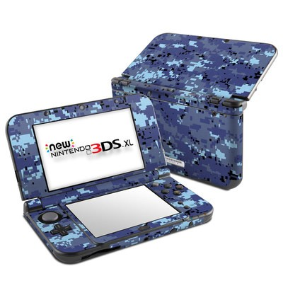 Nintendo New 3DS XL Skin - Digital Sky Camo