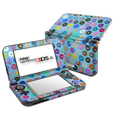 Nintendo New 3DS XL Skin - Donut Party