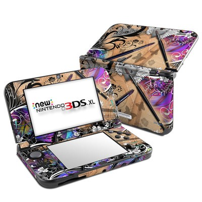 Nintendo New 3DS XL Skin - Dream Flowers