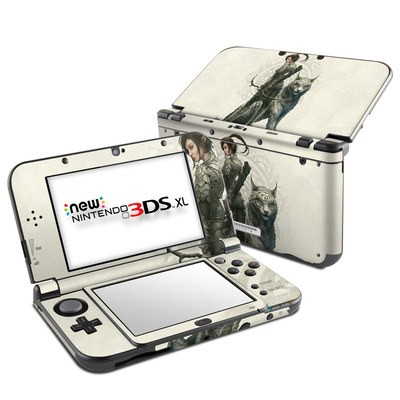 Nintendo New 3DS XL Skin - Half Elf Girl