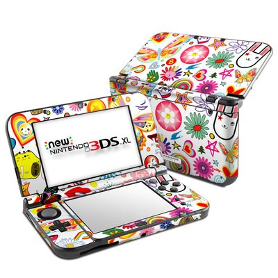 Nintendo New 3DS XL Skin - Eye Candy