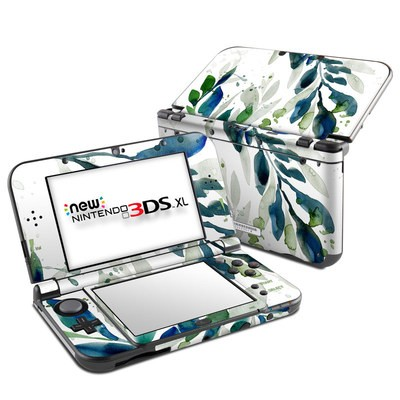 Nintendo New 3DS XL Skin - Floating Leaves