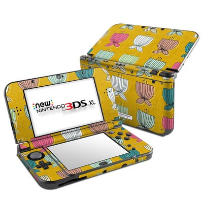 Nintendo New 3DS XL Skin - Flower Cups