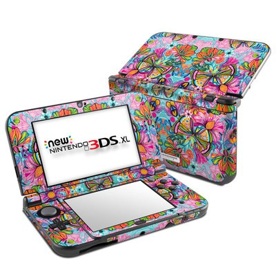 Nintendo New 3DS XL Skin - Free Butterfly