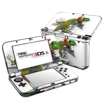 Nintendo New 3DS XL Skin - Gecko