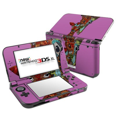 Nintendo New 3DS XL Skin - Giraffe Love