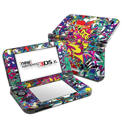 Nintendo New 3DS XL Skin - Graf