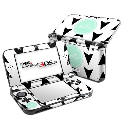 Nintendo New 3DS XL Skin - Greetings