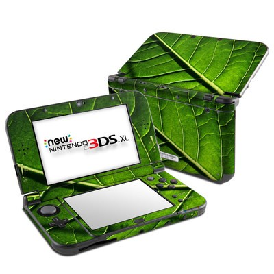 Nintendo New 3DS XL Skin - Green Leaf