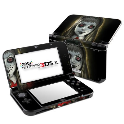 Nintendo New 3DS XL Skin - Haunted Doll