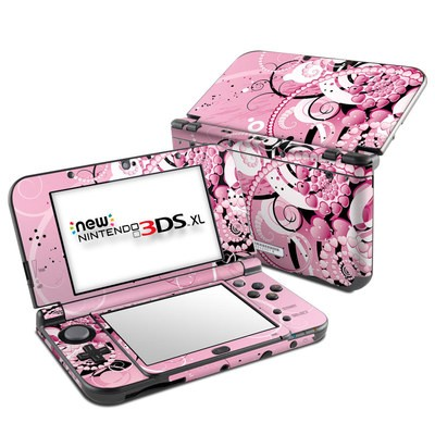 Nintendo New 3DS XL Skin - Her Abstraction