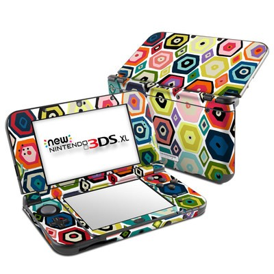 Nintendo New 3DS XL Skin - Hex Diamond