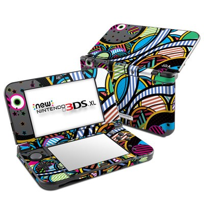 Nintendo New 3DS XL Skin - Hula Hoops