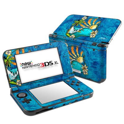 Nintendo New 3DS XL Skin - Island Playground