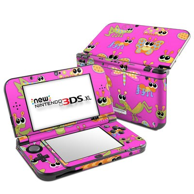 Nintendo New 3DS XL Skin - Kawaii Bug
