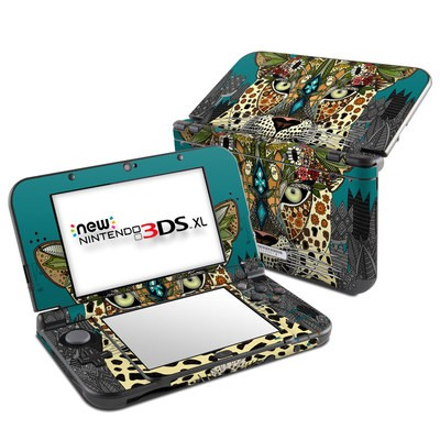 Nintendo New 3DS XL Skin - Leopard Queen