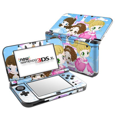 Nintendo New 3DS XL Skin - Little Princesses