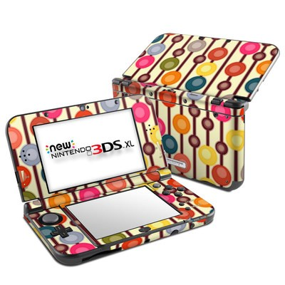 Nintendo New 3DS XL Skin - Mocha Chocca