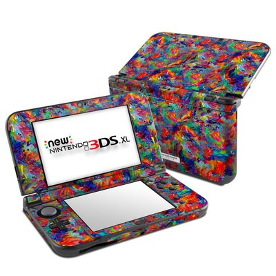 Nintendo New 3DS XL Skin - Melted