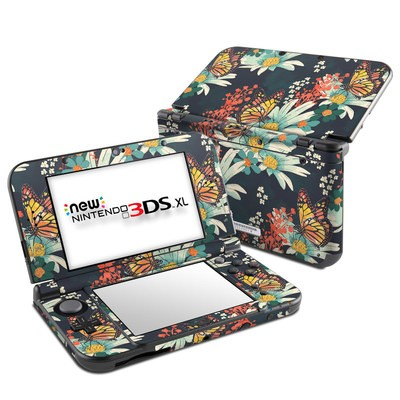 Nintendo New 3DS XL Skin - Monarch Grove