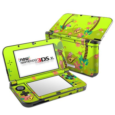 Nintendo New 3DS XL Skin - Monkey Melody