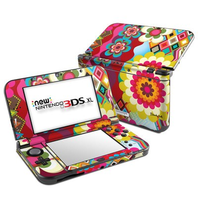 Nintendo New 3DS XL Skin - Mosaic