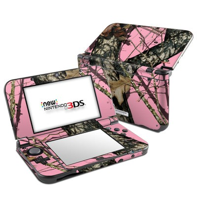 Nintendo New 3DS XL Skin - Break-Up Pink