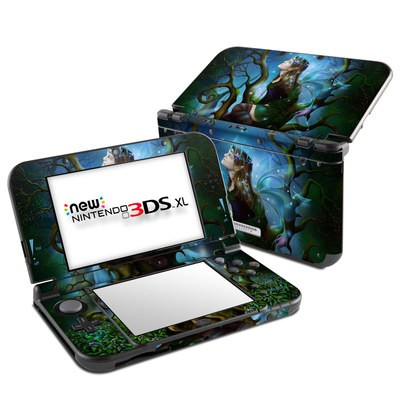Nintendo New 3DS XL Skin - Nightshade Fairy